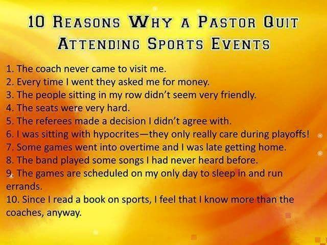 10 reasons